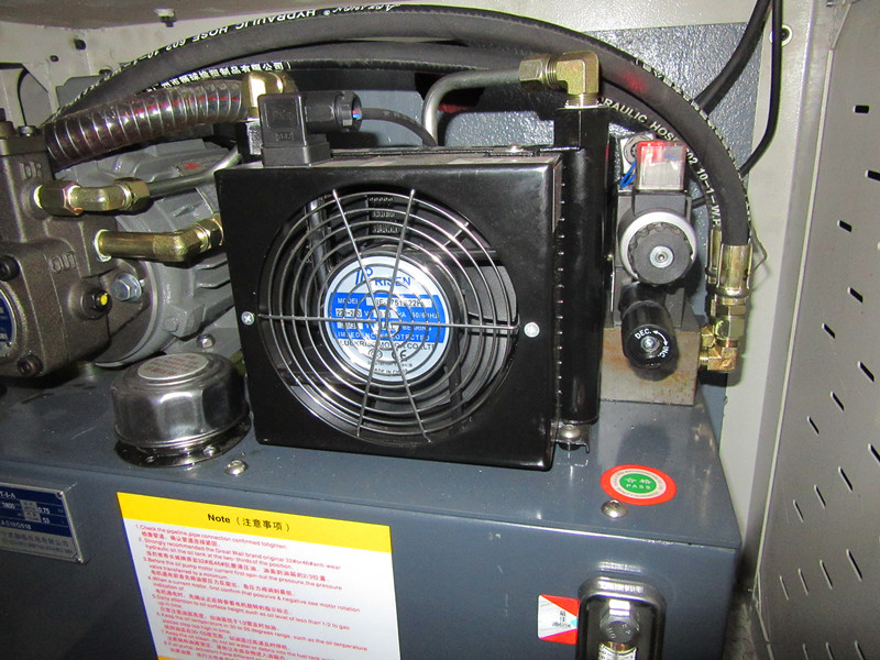 customer case: cnc with back feeding device for auto parts